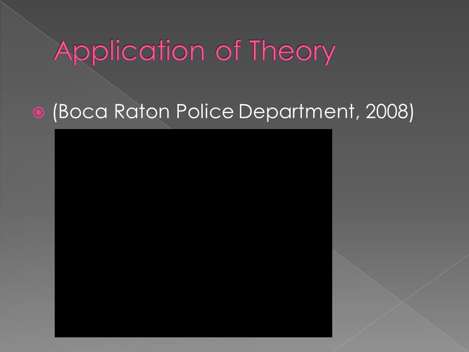  (Boca Raton Police Department, 2008)