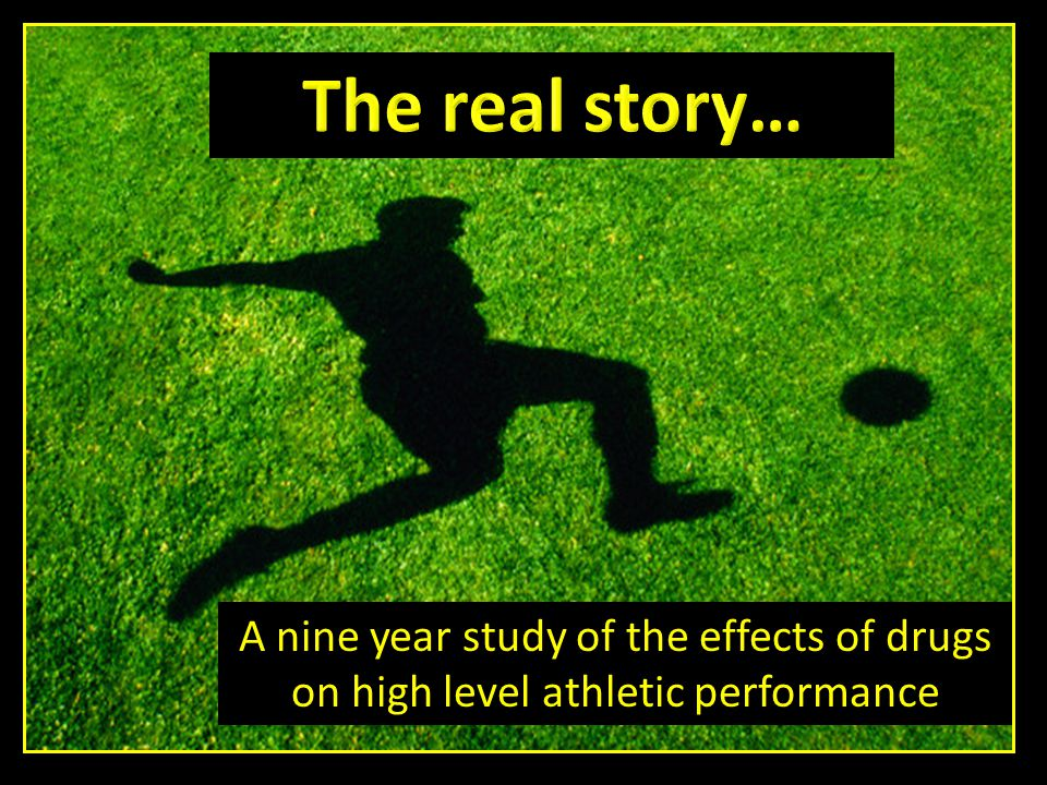 A nine year study of the effects of drugs on high level athletic performance