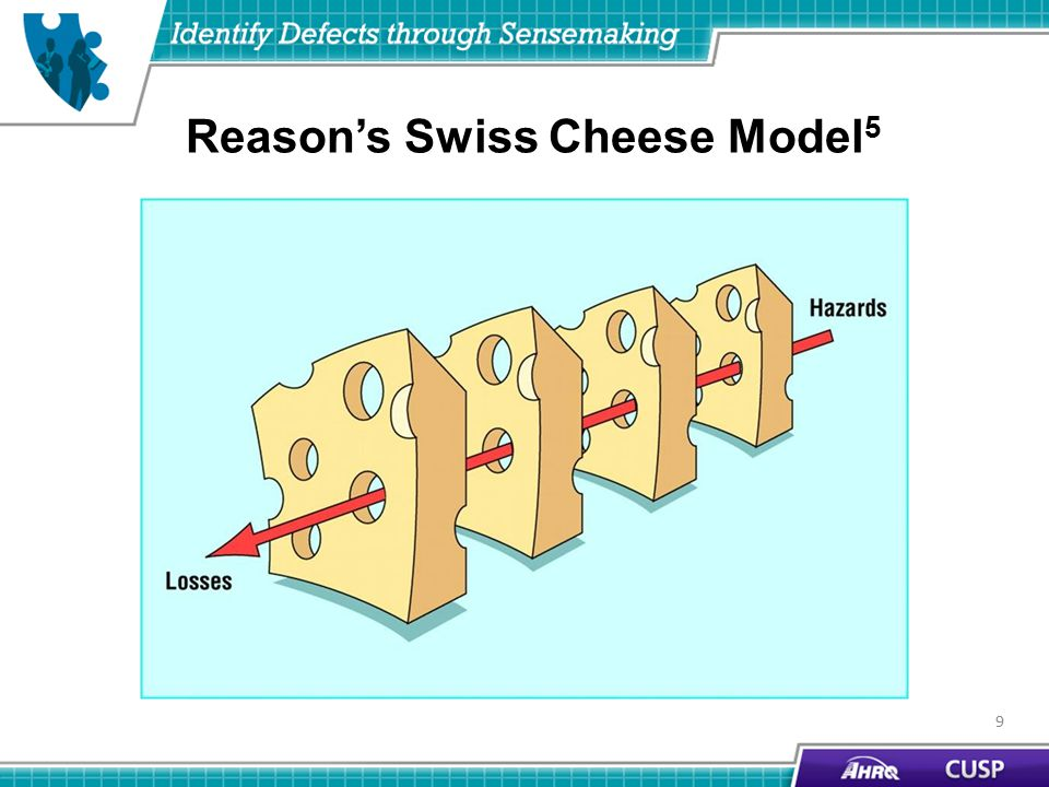 Reason's Swiss Cheese Model 5 9