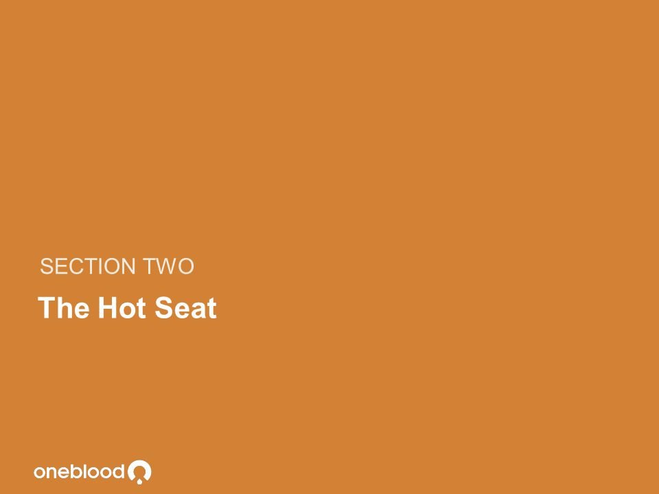 SECTION TWO The Hot Seat