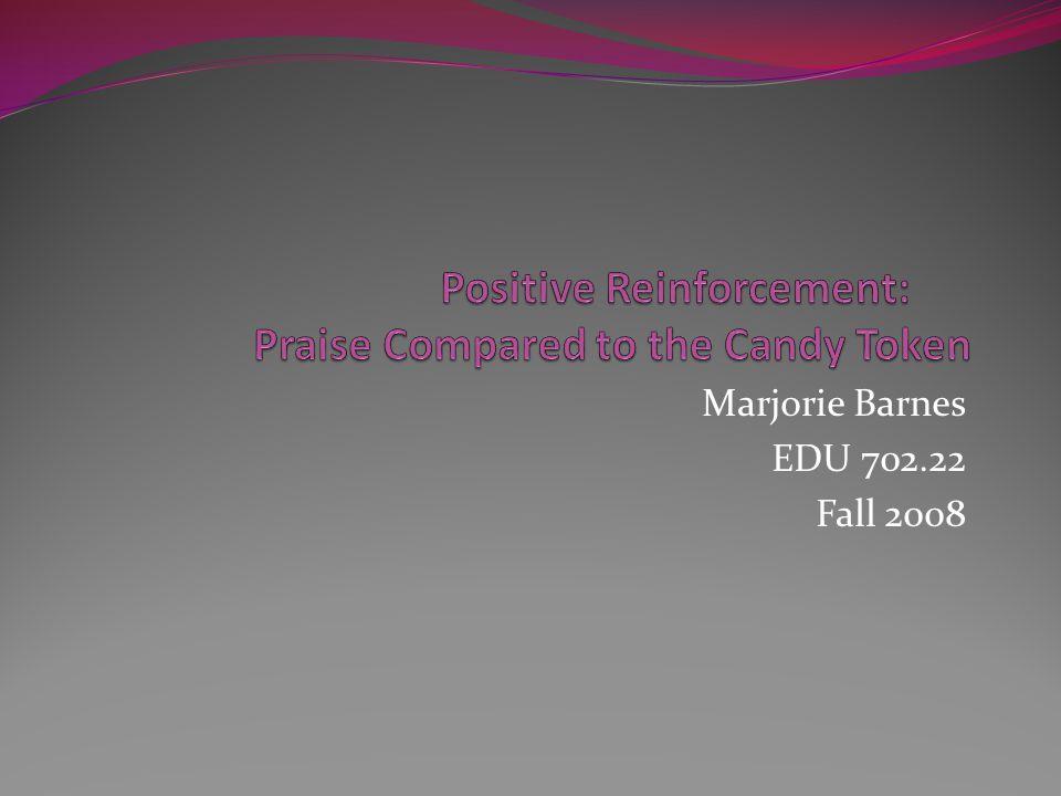 Marjorie Barnes EDU 702.22 Fall 2008