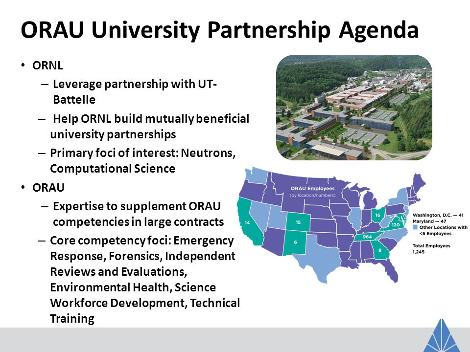 We are Making a Difference – We are ORAU!