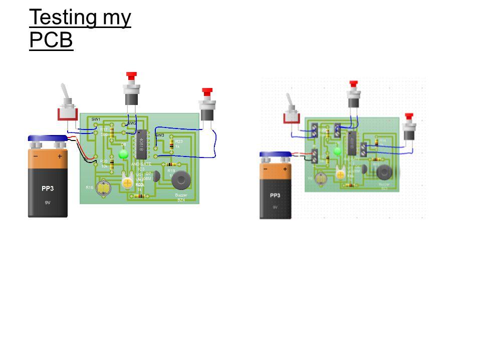 Testing my PCB