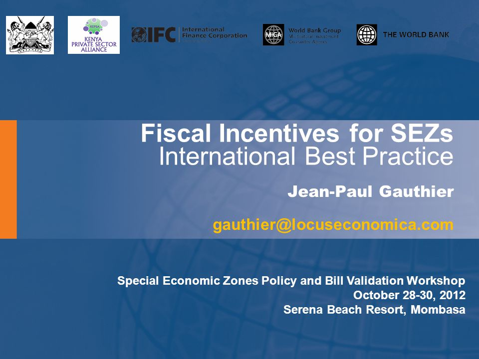 MoF Views on Fiscal Incentives in the Bill The Bill relies heavily on fiscal incentives to drive SEZ development and the MOF need[s] to understand why this is the case before [it] can recommend more fiscal incentives. More specifically: the legal framework is not sufficiently geared toward supporting the development of specific clusters EPZs in Africa have primarily failed due to infrastructure, planning and governance constraints, both inside and outside of the EPZs, rather than due to the lack of incentives the fiscal incentives are distortionary, could lead to tax evasion, and will likely require expensive administrative mitigation measures the fiscal incentives could result in net negative economic impacts The MoT accepts that these points merit consideration