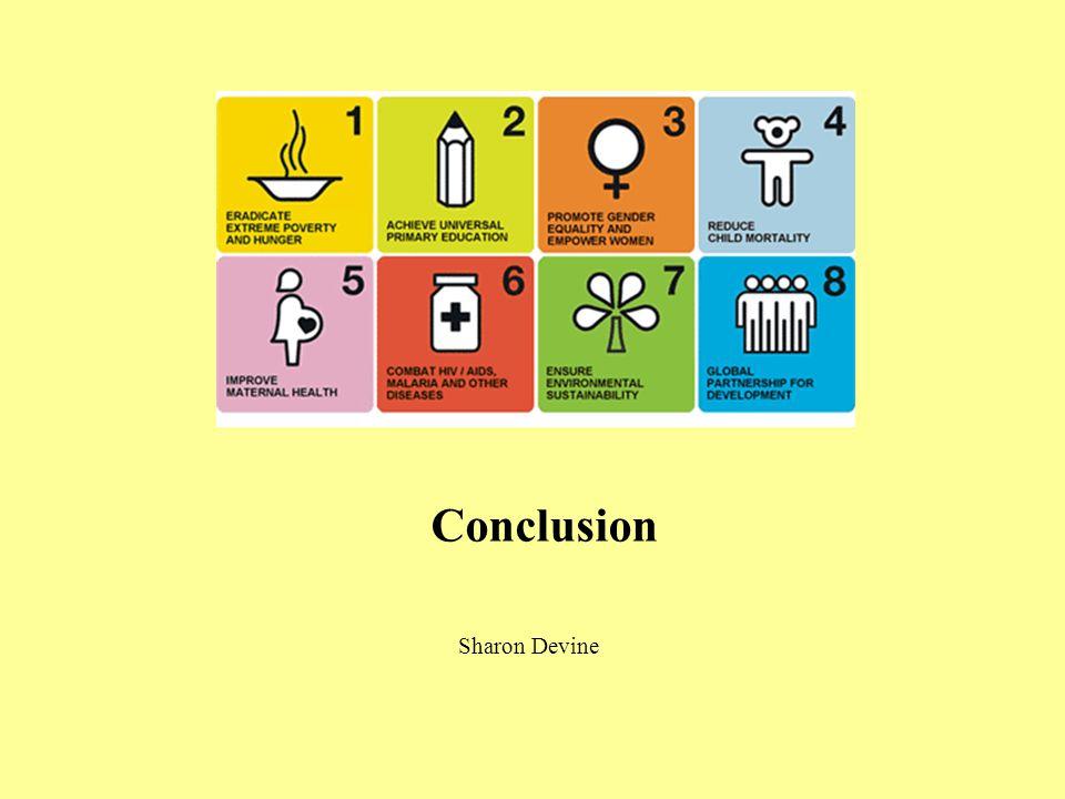 Conclusion Sharon Devine