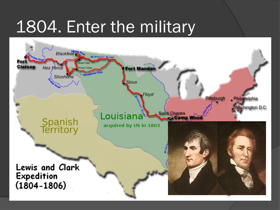 1804. Enter the military