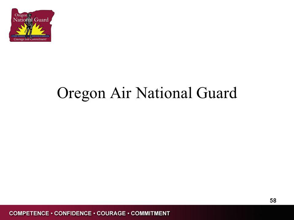 Oregon Air National Guard 58