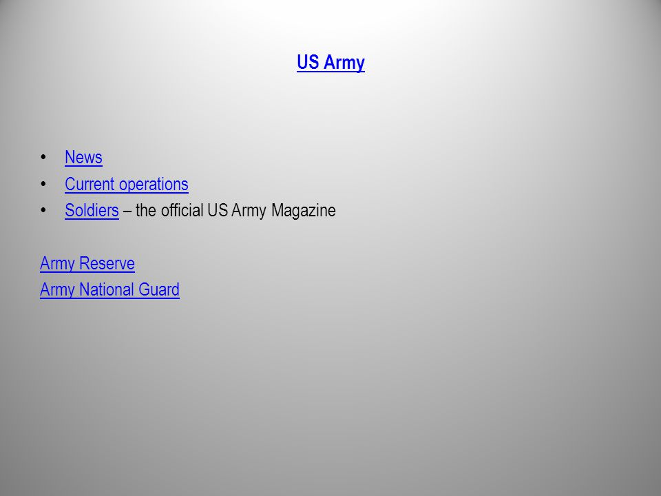 US Army News Current operations Soldiers – the official US Army Magazine Soldiers Army Reserve Army National Guard