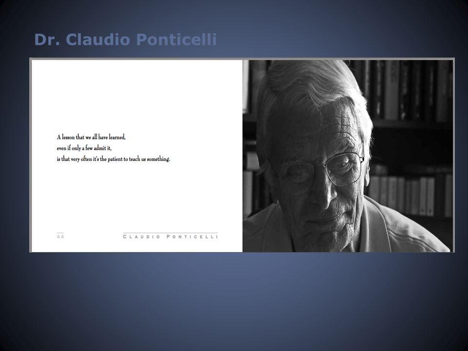 Dr. Claudio Ponticelli