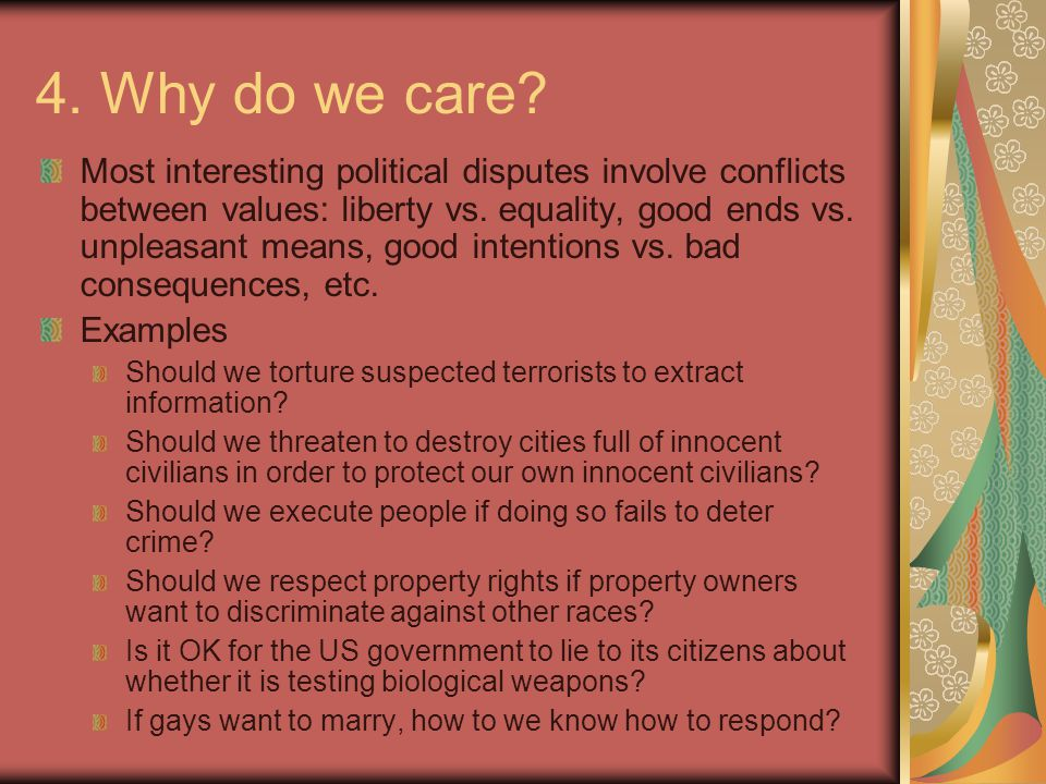 4. Why do we care.