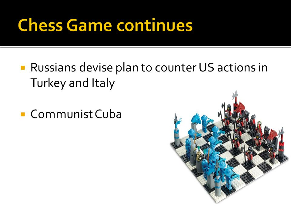  Russians devise plan to counter US actions in Turkey and Italy  Communist Cuba