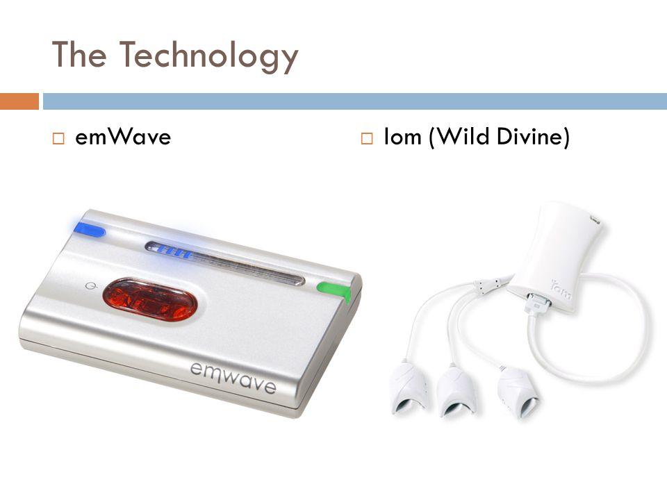 The Technology  emWave  Iom (Wild Divine)