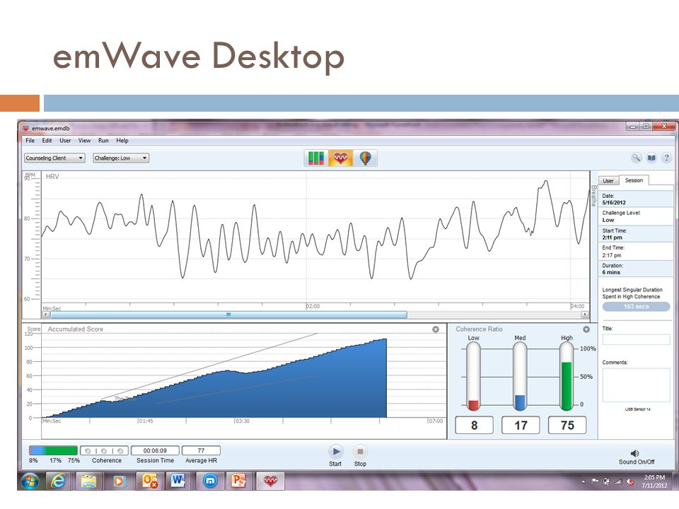 emWave Desktop