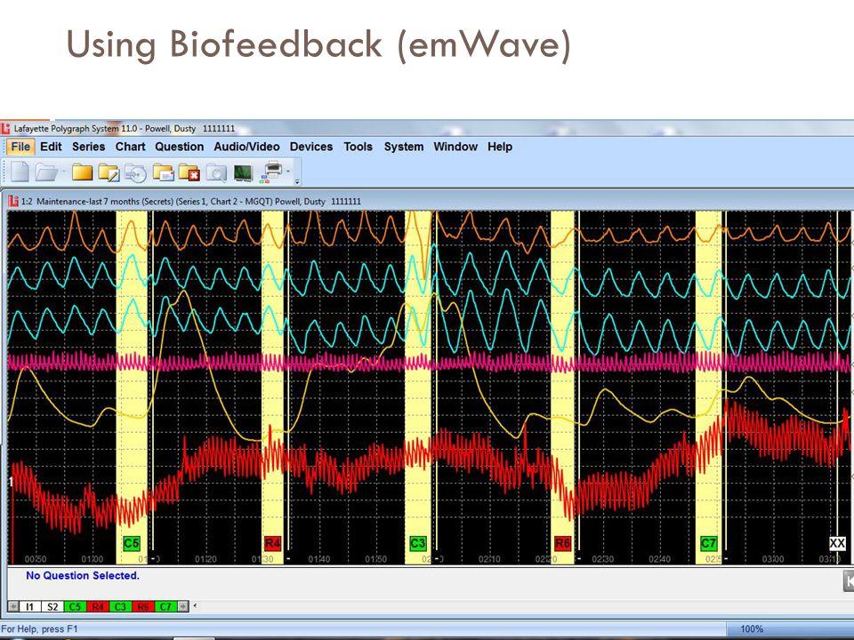 Using Biofeedback (emWave)