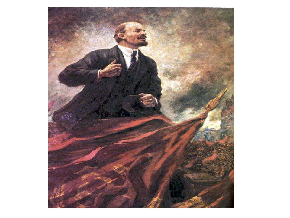 Stage Seven Examples October/November Revolution of 1917: Provisional Government and rule of Kerensky is overthrown Bolsheviks win the civil war Lenin