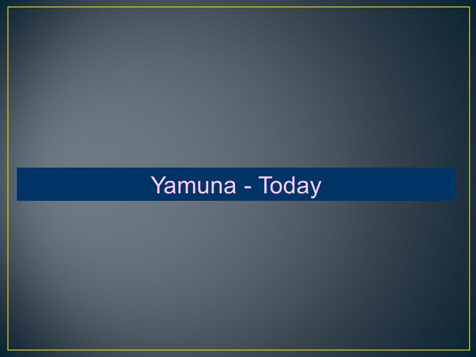 Yamuna - Today