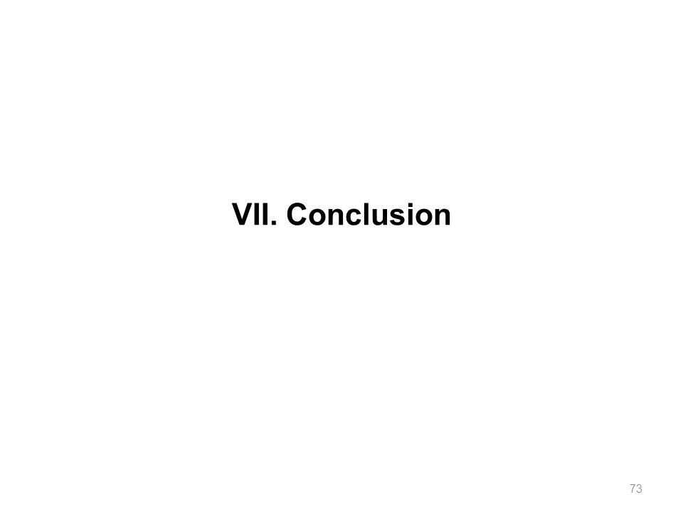 VII. Conclusion 73