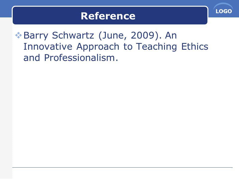 LOGO Reference  Barry Schwartz (June, 2009).