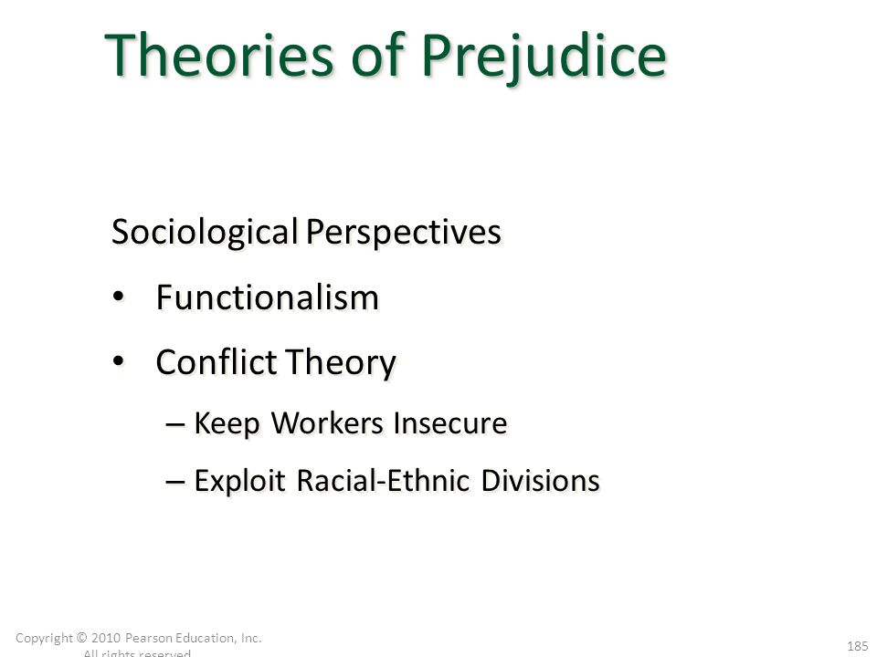 Sociological Perspectives Functionalism Conflict Theory – Keep Workers Insecure – Exploit Racial-Ethnic Divisions Sociological Perspectives Functional