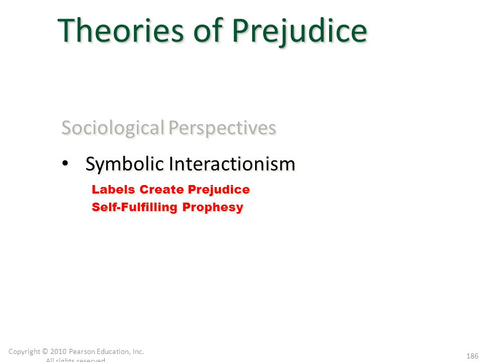 Sociological Perspectives Symbolic Interactionism Sociological Perspectives Symbolic Interactionism Copyright © 2010 Pearson Education, Inc. All right