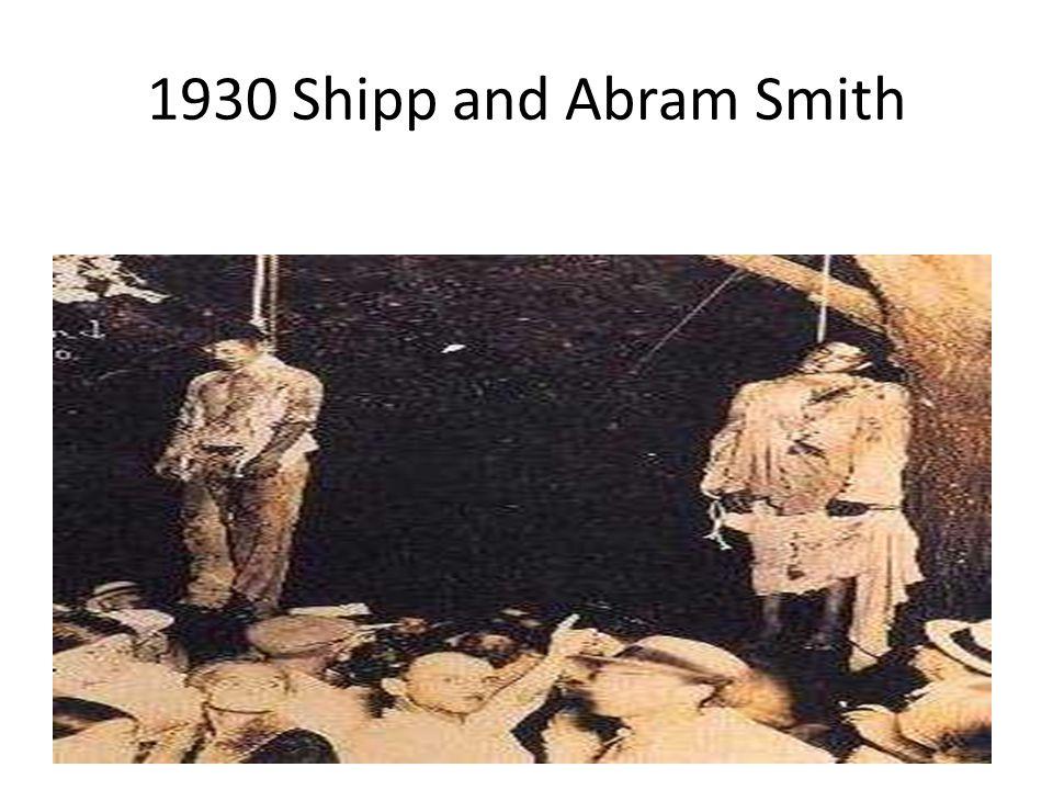 1930 Shipp and Abram Smith