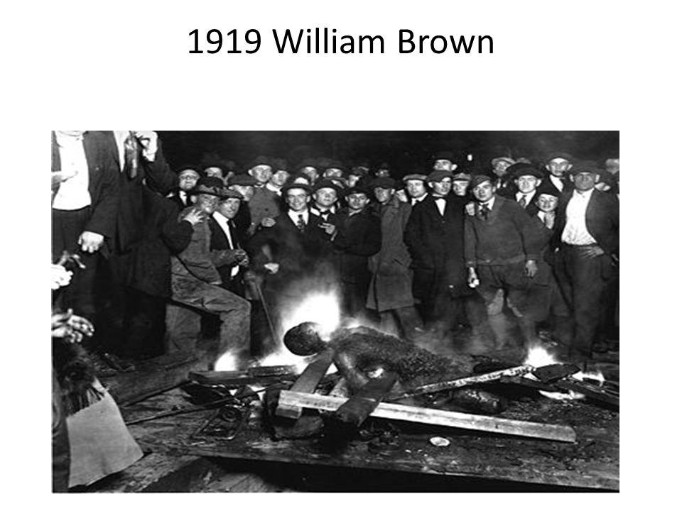 1919 William Brown