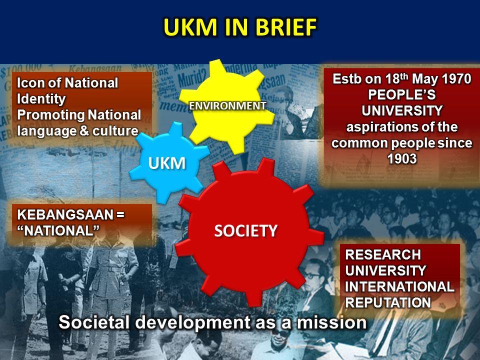 SOCIETY UKM