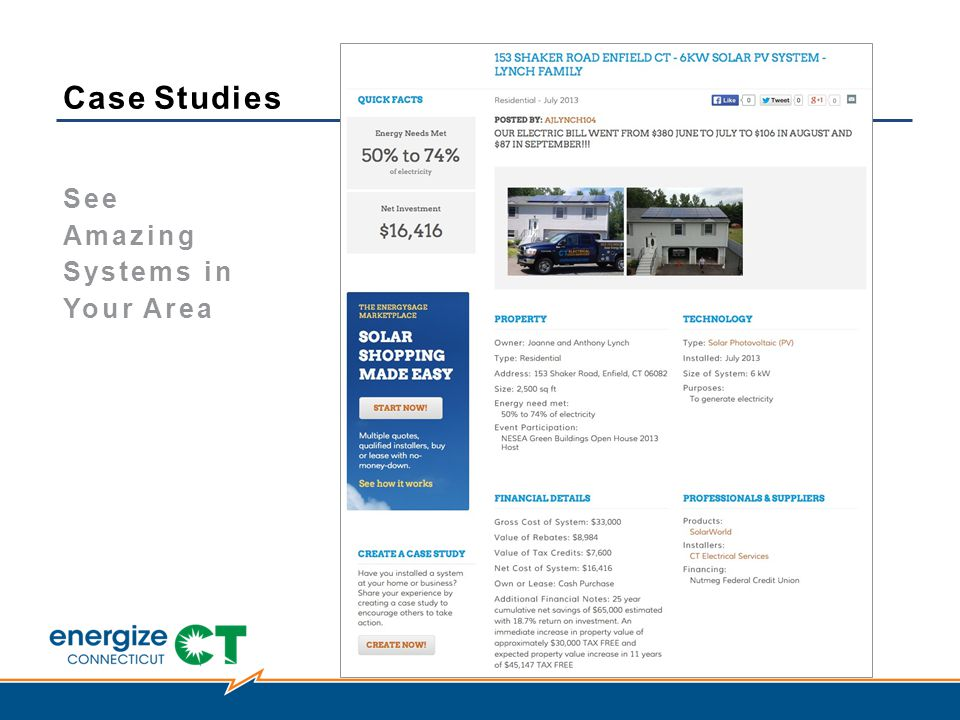 Case Studies See Amazing Systems in Your Area