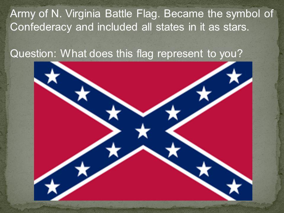 Army of N. Virginia Battle Flag.