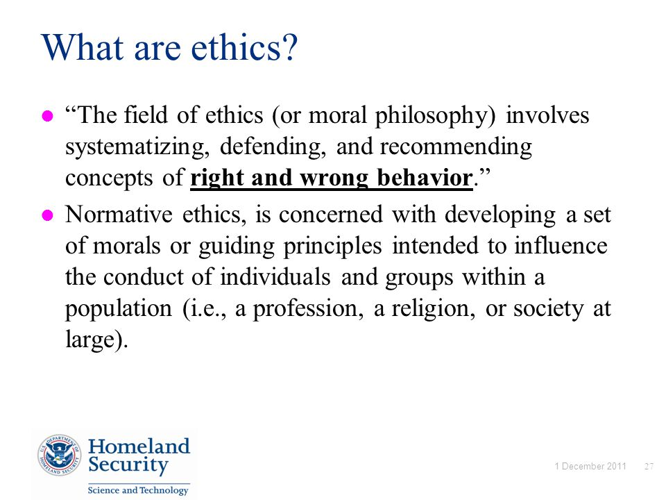 What are ethics.