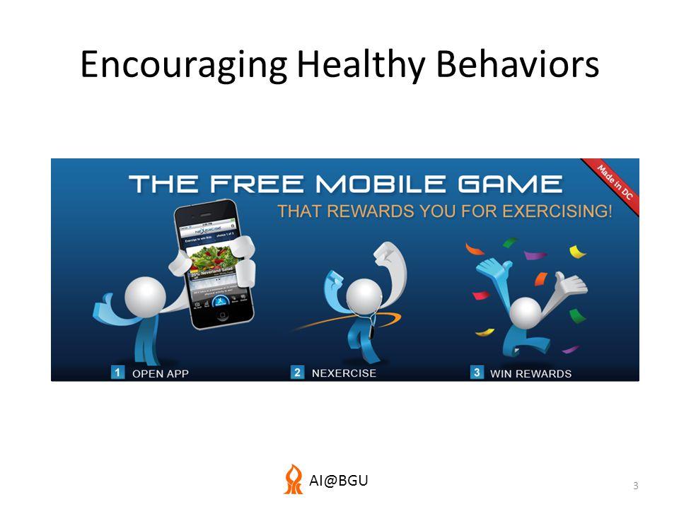 AI@BGU Encouraging Healthy Behaviors 3