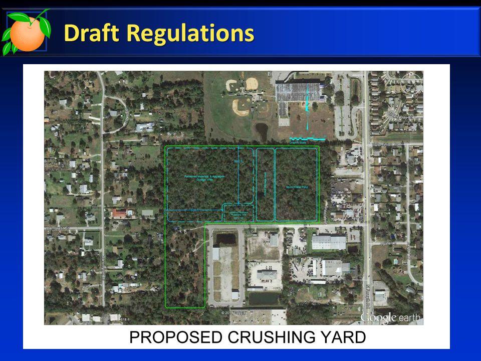 Draft Regulations