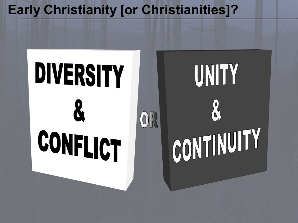 BART EHRMAN Chair, Department of Religious Studies, The University of North Carolina at Chapel Hill and that its opponents in the conflict, with their other scriptural texts, had always represented small splinter groups invested in deceiving people into heresy. Bart D.