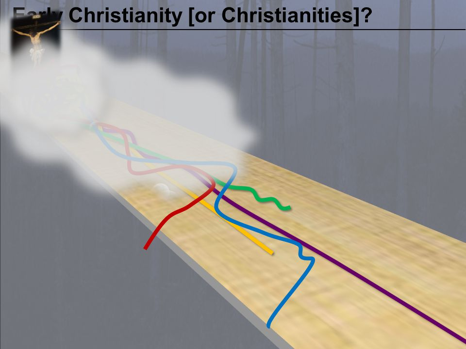 CLAIM OF THE CRITICS AD 250 Early Christianity [or Christianities]?