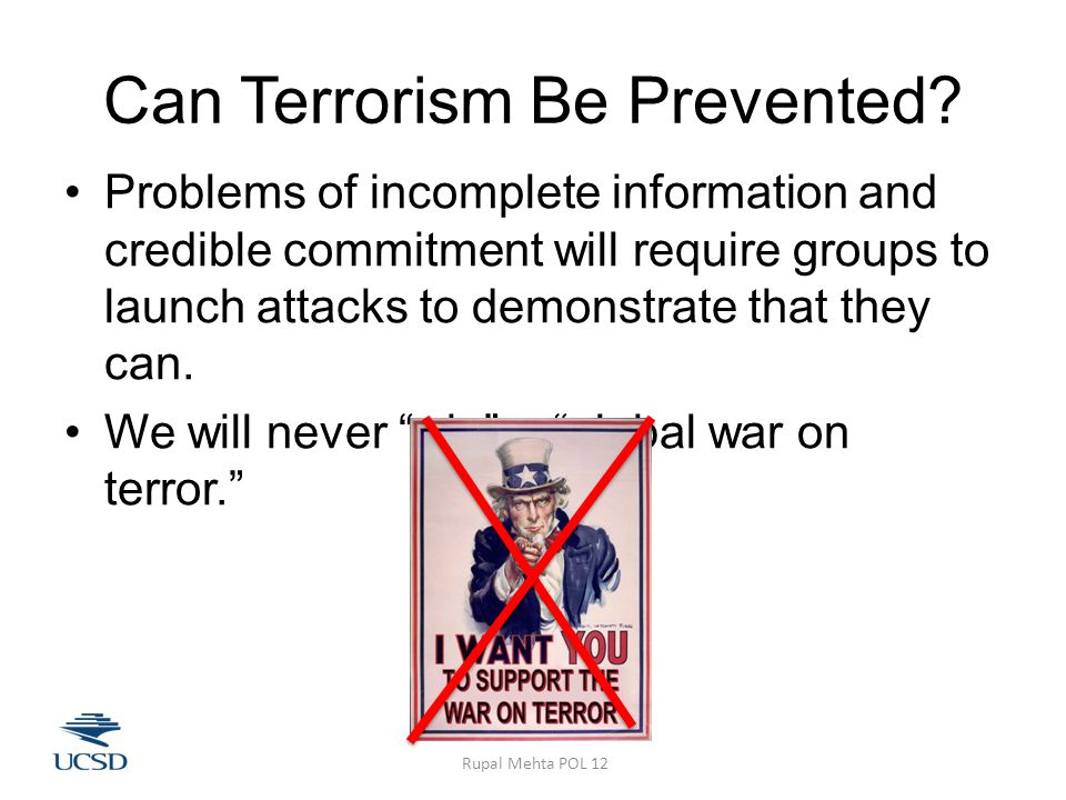 Can Terrorism Be Prevented.
