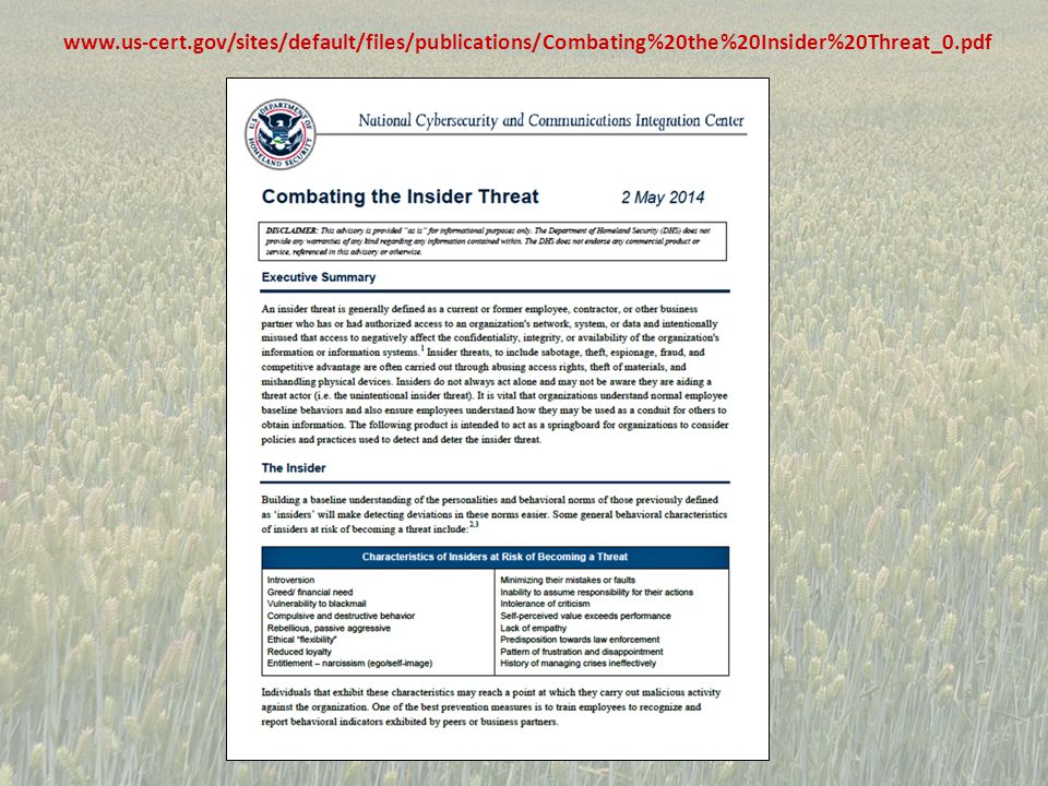 Training employees to recognize phishing and other social media threat vectors Train continuously to maintain the proper levels of knowledge skills and abilities Conduct training on and improve awareness of risk perception and cognitive biases that affect decision making Improve usability of security tools Improve usability of software to reduce the likelihood of system- induced human Enhance awareness of the unintentional insider threat Provide effective security practices (e.g.