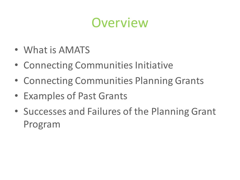 What is AMATS.