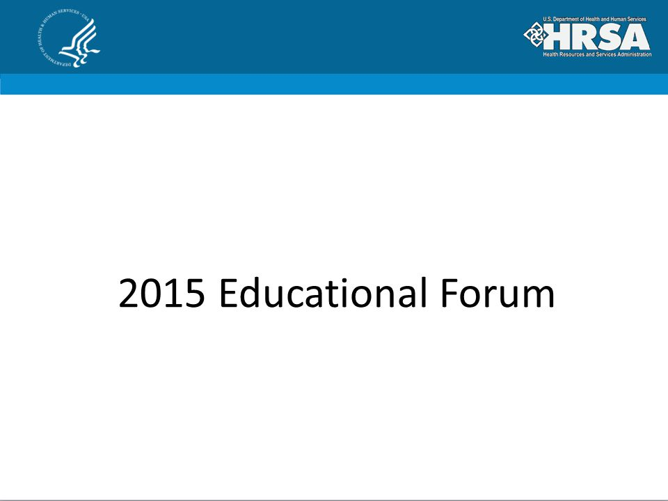 2015 Educational Forum
