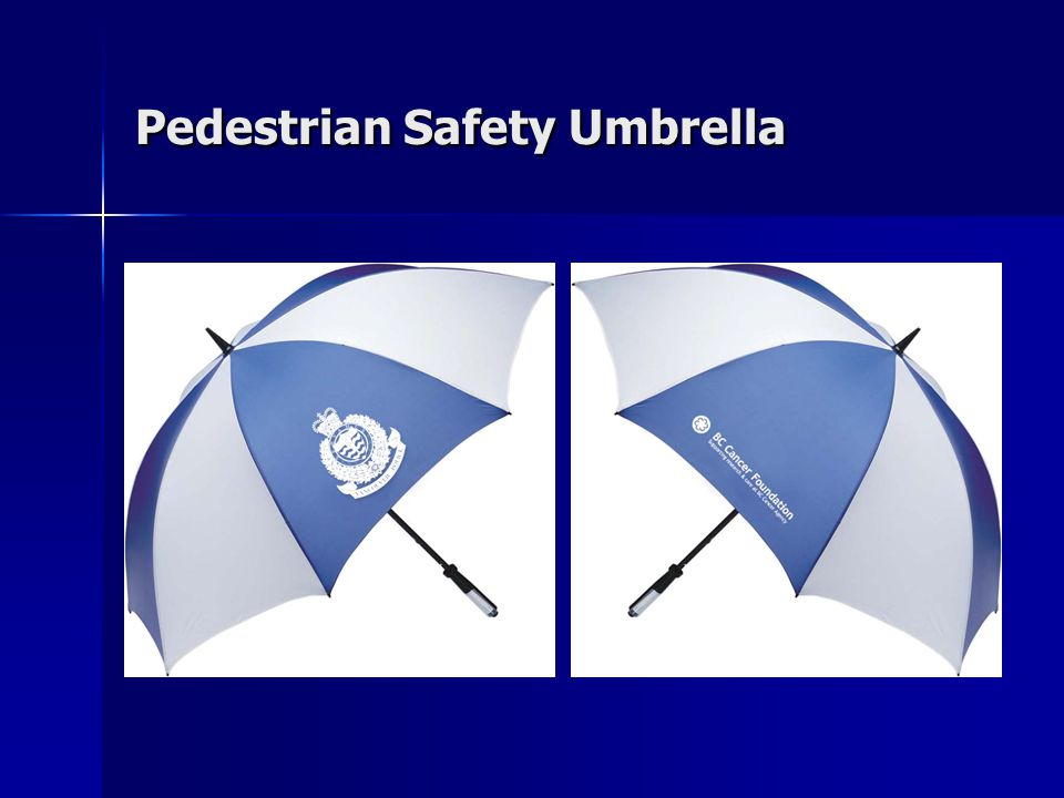 Pedestrian Safety Umbrella