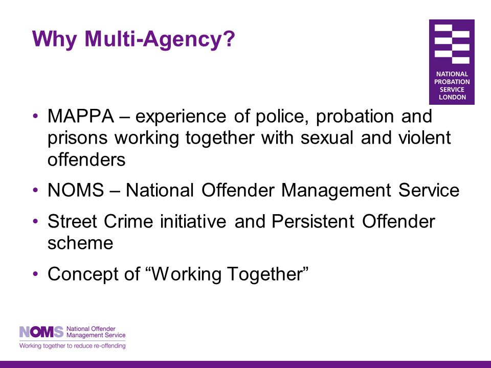 Why Multi-Agency.