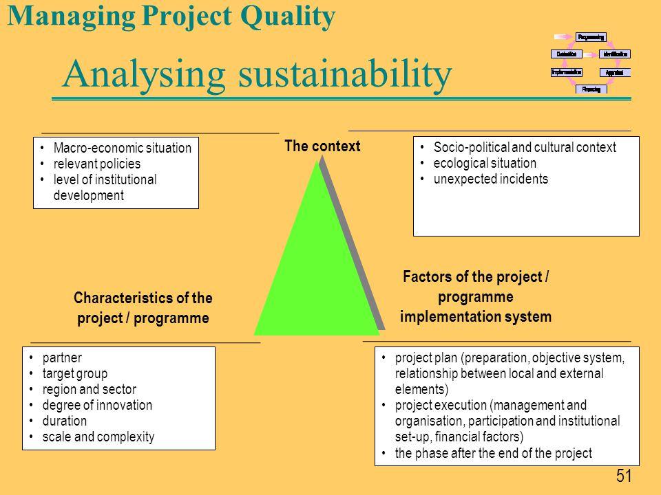 52 Standardised documentation Linked objectives Basic Format 1.