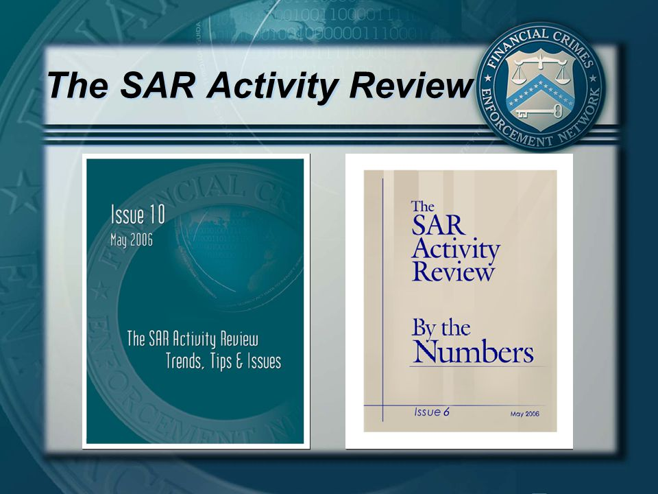 The SAR Activity Review