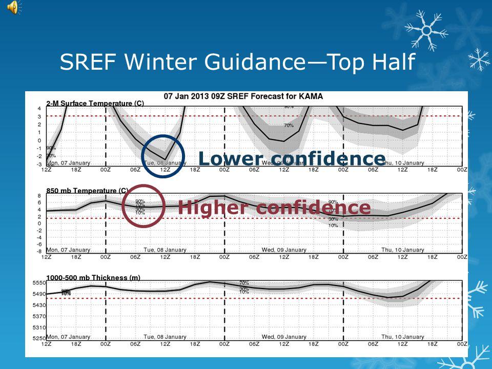 SREF Winter Guidance--Full Page