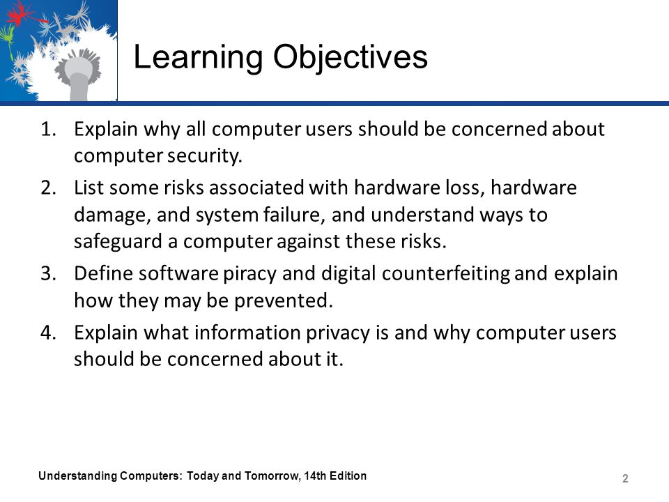 Computer Security and Privacy Legislation Understanding Computers: Today and Tomorrow, 14th Edition 53
