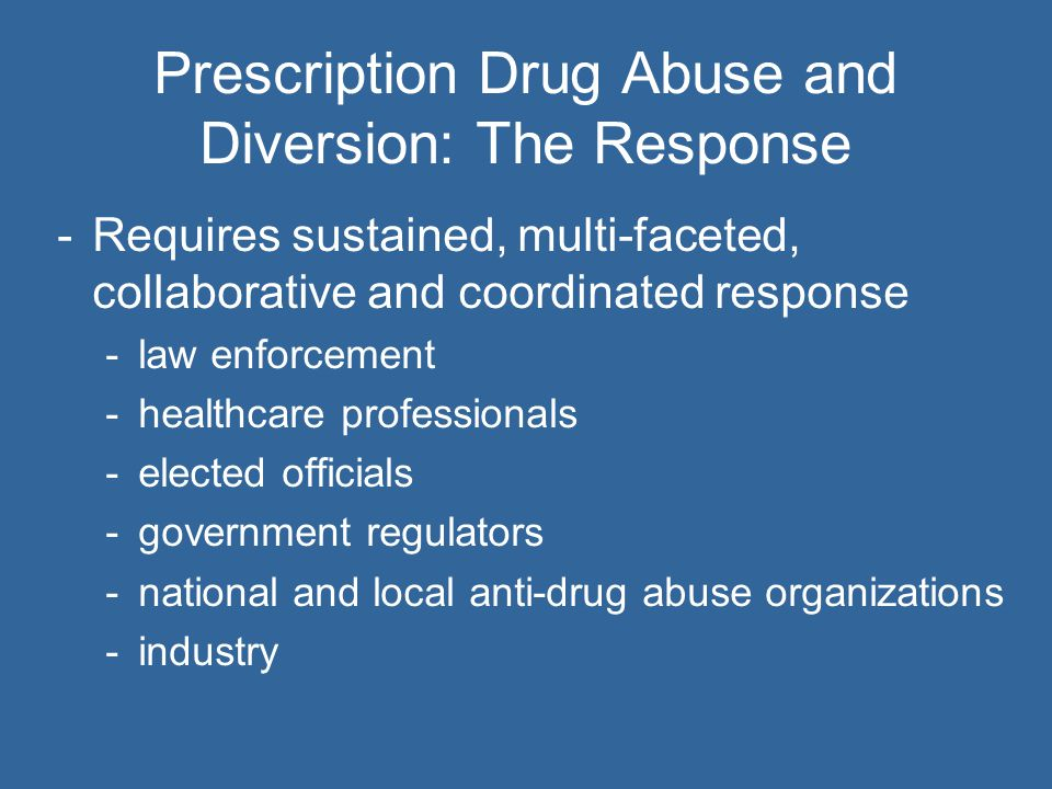 15 Working with Managed Care Organizations -Controlled Substance - Patterns of Utilization Requiring Evaluation (CS-PURE ® ) software program -Enables managed care organizations to review member claims data with 28 queries, including: Multiple prescribers for an opioid analgesic Overlapping opioid analgesic therapies Multiple pharmacies filling opioid analgesic prescriptions Multiple benzodiazepine prescriptions -Provided to managed care organizations at no charge as a tool to identify areas in need of further investigation