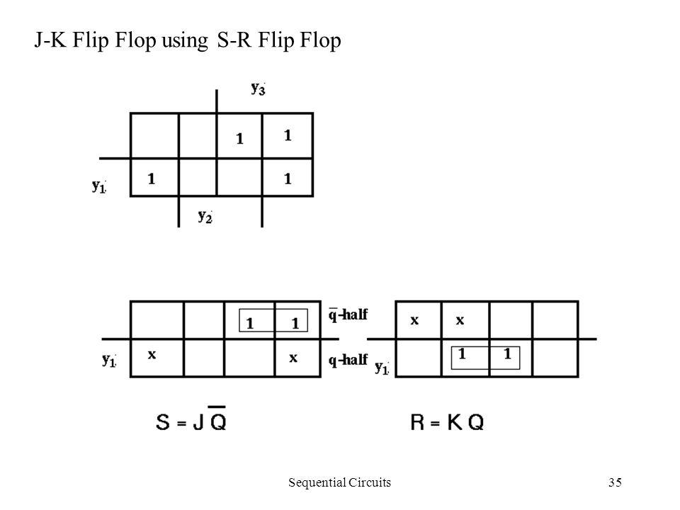 Sequential Circuits35 J-K Flip Flop using S-R Flip Flop