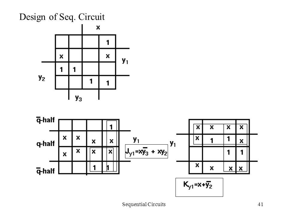 Sequential Circuits41 Design of Seq. Circuit