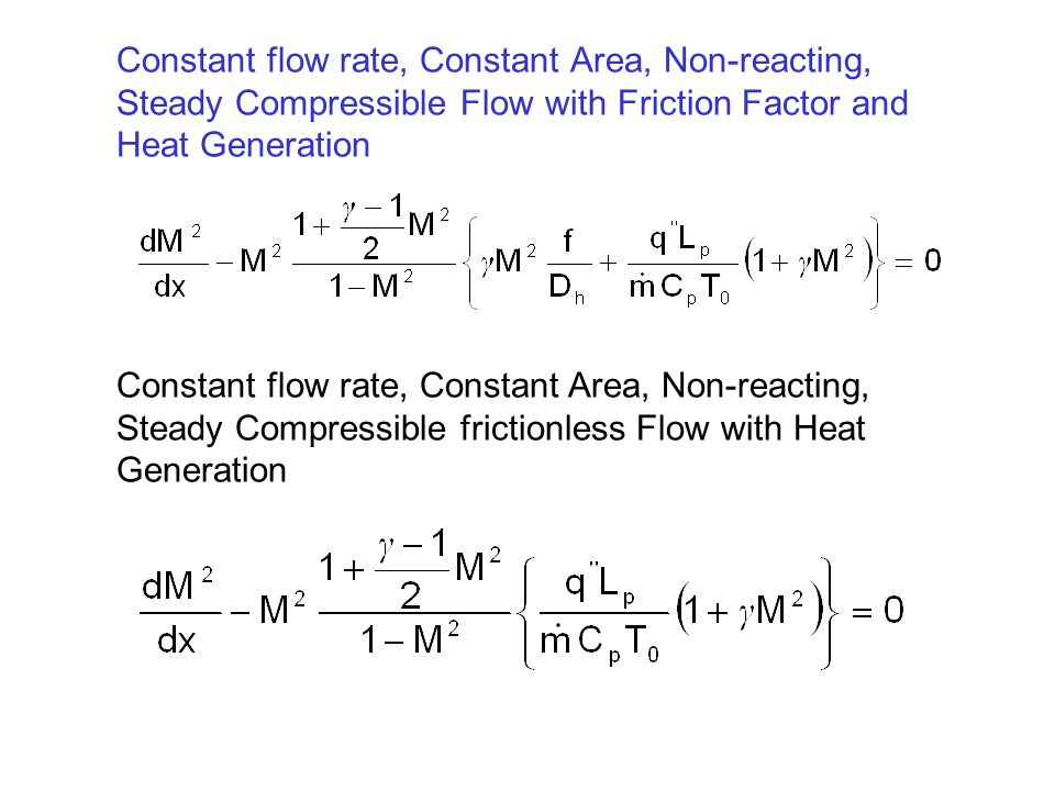Combined Momentum and Continuity Equation