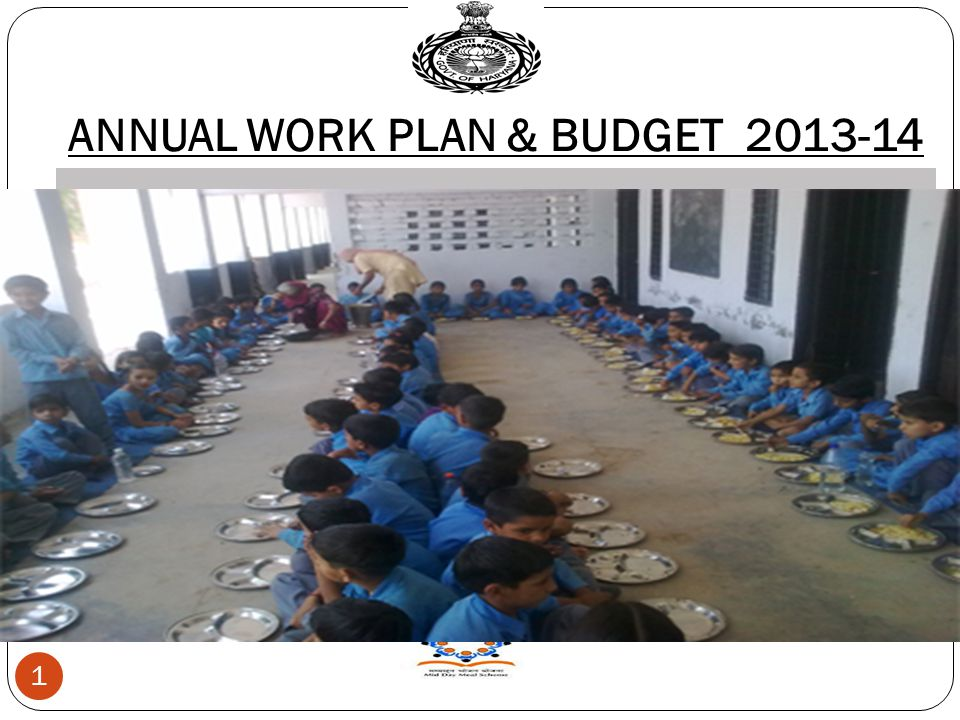 ANNUAL WORK PLAN & BUDGET 2013-14 1