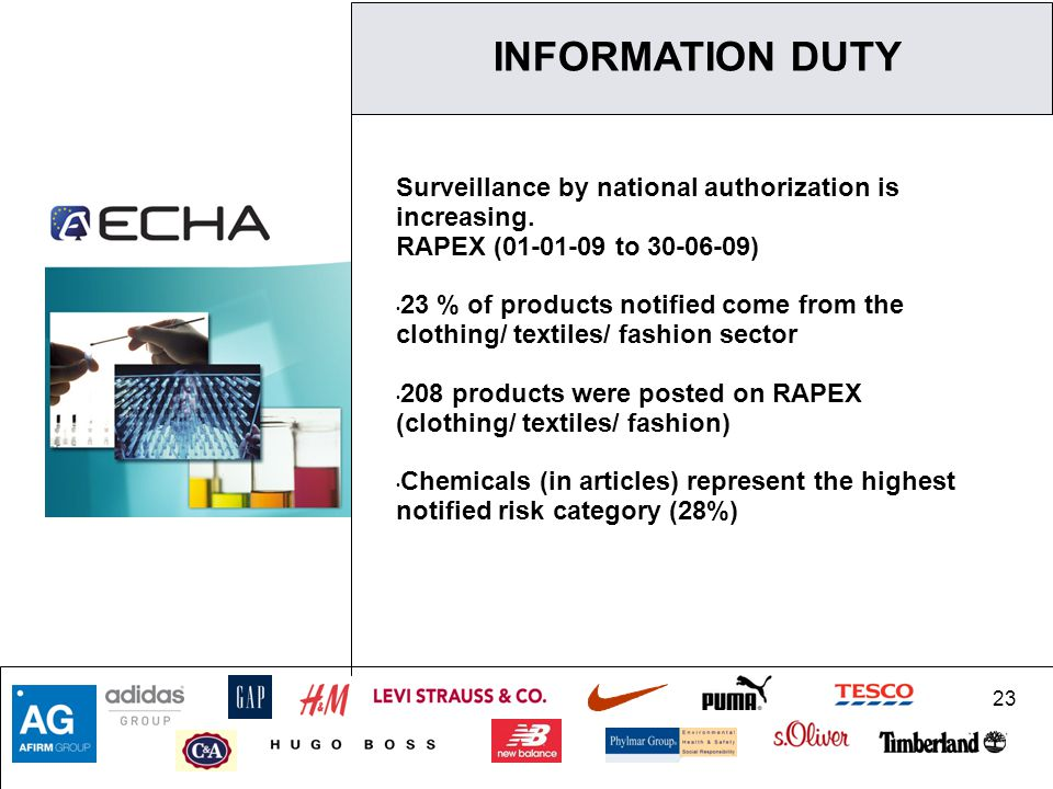 23 Surveillance by national authorization is increasing.